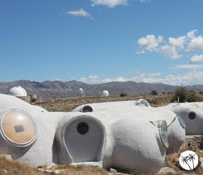 Le plateau de Calern et ses maisons bulles