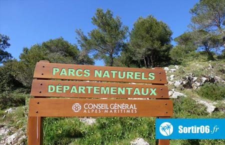 Les parcs naturels départementaux du 06 - Alpes Maritimes