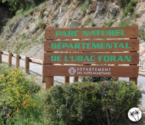 Parc de l'Ubac Foran - Parcs naturels départementaux 06 Alpes Maritimes