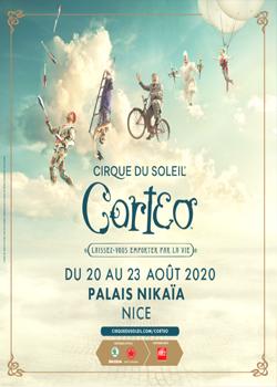 Le cirque du soleil - Cortéo