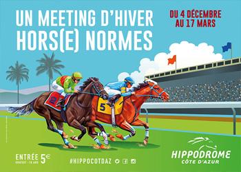 meeting d'hiver hors(e) normes - hippodrome Cagnes sur Mer
