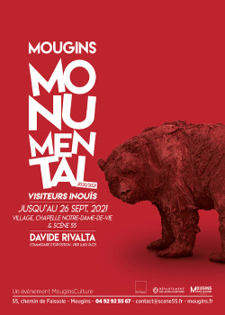 Exposition Mougins Monumental de Davide Rivalta