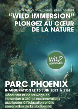 Exposition interactive « Wild Immersion »